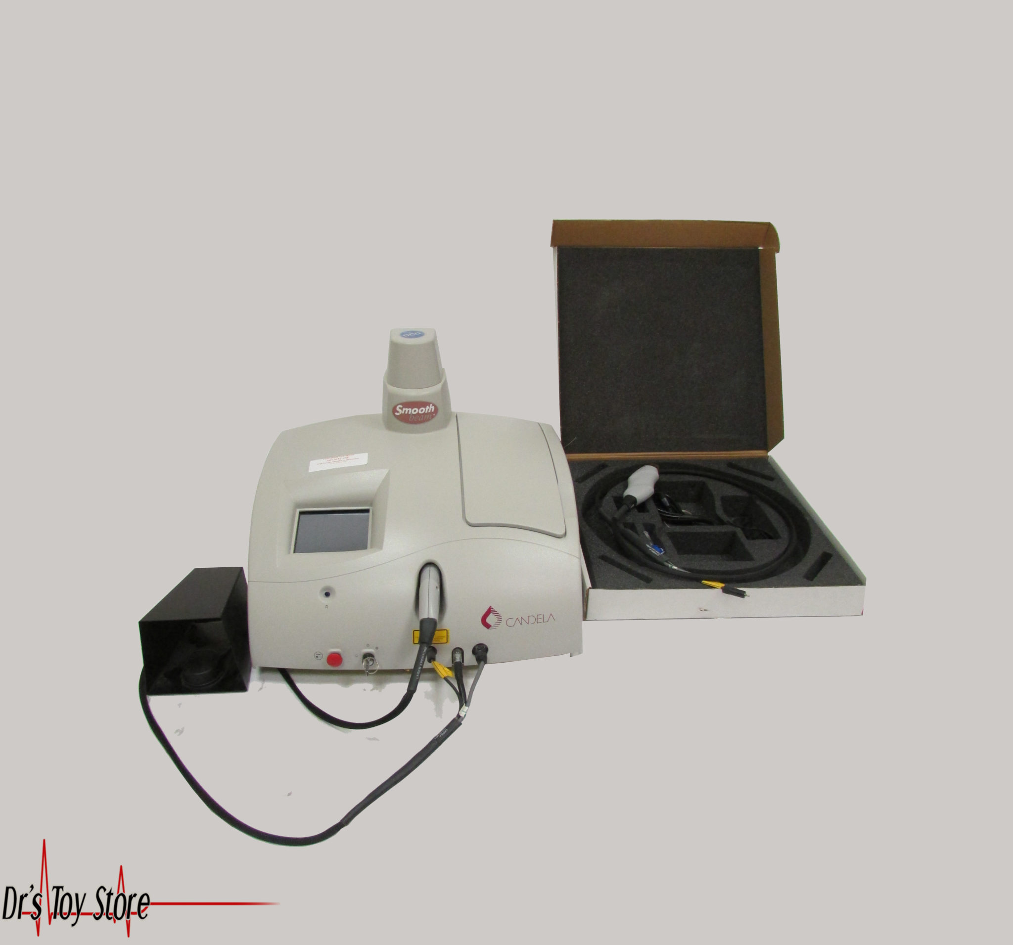 Candela Laser Smooth Beam W Two Handpieces For Sale At Dr
